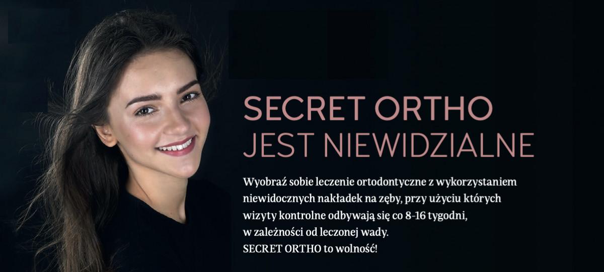 Secret Ortho jest niewidzialne